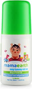 Mamaearth Easy Tummy Roll On with Fennel for Digestion and Body Relief for Kids and Babies, Made in the Himalayas