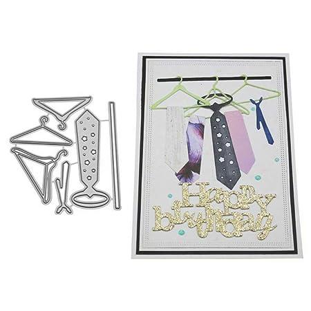 Troqueles de corte, corbatas para colgar para manualidades ...