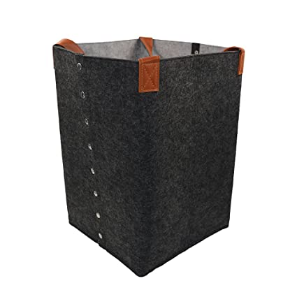 Cestos de almacenaje de fieltro, NTMY Cestos para la colada / Cajas de almacenaje con