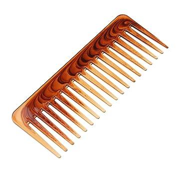 MagiDeal Multifuncional Peine de Plástico de Dientes Anchos Cepillo de Pelo Resistente al Calor: Amazon.es: Belleza