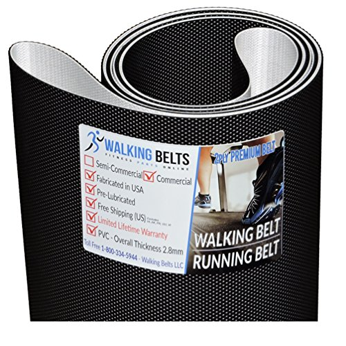 WALKINGBELTS Walking Belts LLC - PFTL131160 ProForm PRO 2000 Treadmill Walking Belt 2ply Premium + Free 1oz Lube