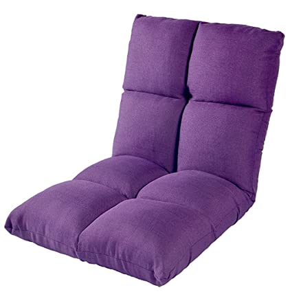 Sunloungers Cushions Lazy Sofa Foldable Single Small Sofa Bed Chair