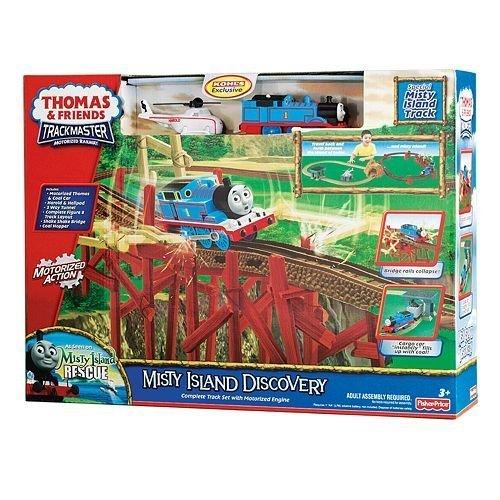 Fisher Price Thomas & Friends Misty Island Discovery Playset - Shake Shake Bridge Thomas