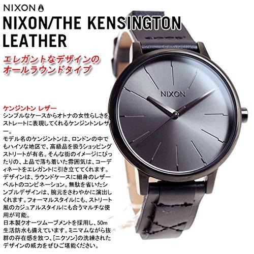 627ea4e80878 Amazon | [ニクソン]NIXON ケンジントンレザー KENSINGTON LEATHER 腕時計 レディース ブラック/ブライドル  NA1082132-00 [正規輸入品] | NIXON(ニクソン) | 腕時計 ...