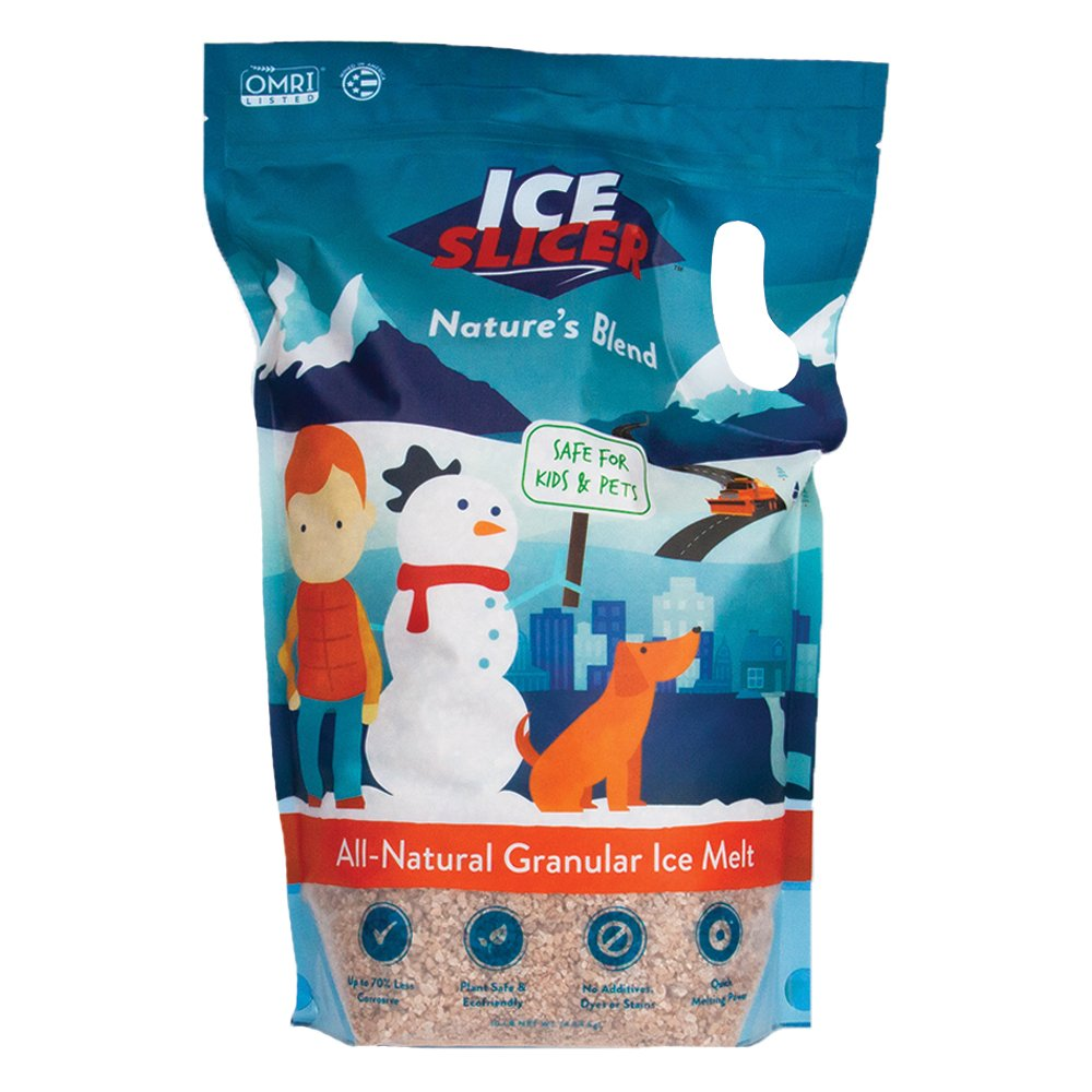 REDMOND Ice Slicer - Ice Melt Salt, Kid & Pet Safe Deicer, All-Natural Granular Ice Melt (10 LB) by REDMOND