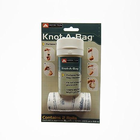 Amazon.com: knot-a-bag, portátil bolsa de plástico ...