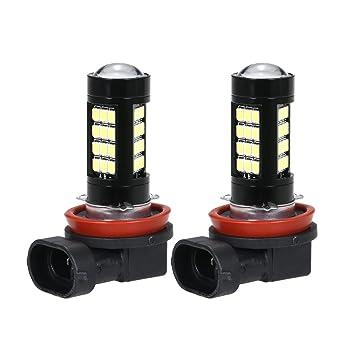 KKmoon 2 x 42 SMD 2583 LED Bombilla para Luz de Antiniebla Canbus Error Free H11