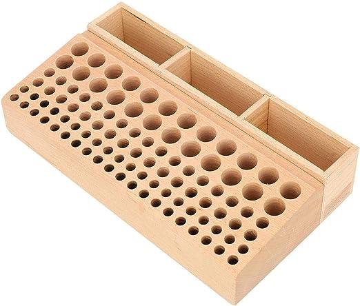 Porta herramientas de cuero 101 agujeros Rack de herramientas de ...