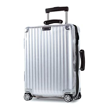 9e3f62d4f7 Amazon.com | Sunikoo Luggage Cover for Rimowa Classic/Classic Flight  Suitcase Clear PVC Protector Transparent Protective Case with Black Zipper  | Packing ...