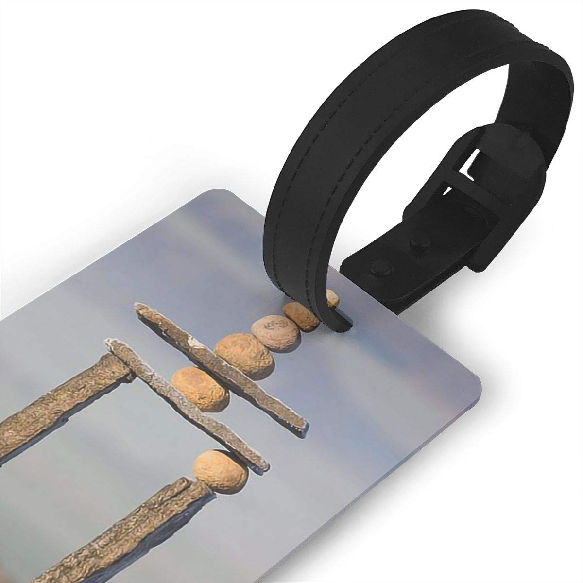 2 Pack Luggage Tags Cobblestone Travel Tags For Travel Tags Accessories