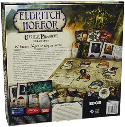 Fantasy Flight Games Eldritch Horror - Bajo Las pirámides (Edge Entertainment EDGWH05): Amazon.es: Juguetes y juegos