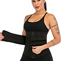 DODOING Dam bantning midjetränare bälte för viktminskning justerbar midja trimmer cincher bälte svettfett brännare bälte…