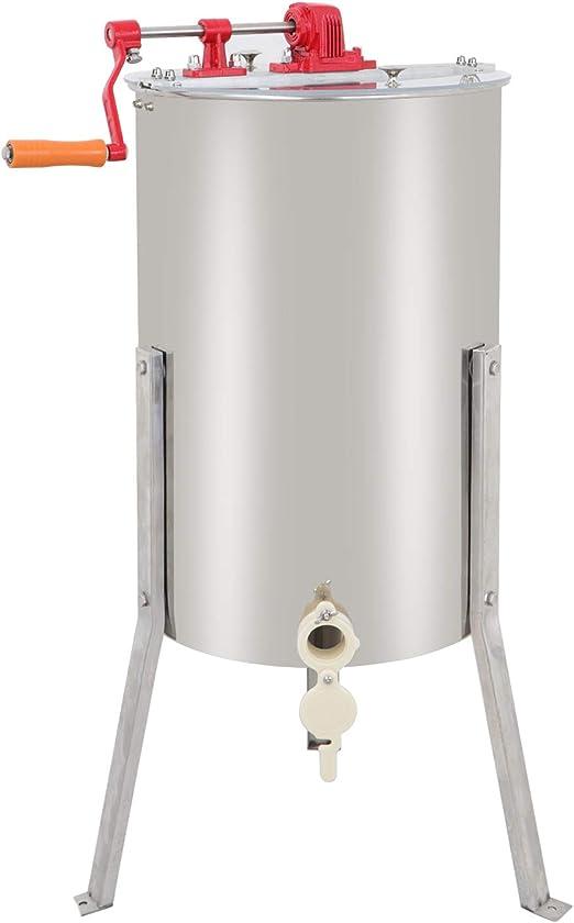 Pro Electric 4 Frame Stainless Steel Honey Extractor Beekeeping Equipment Drum