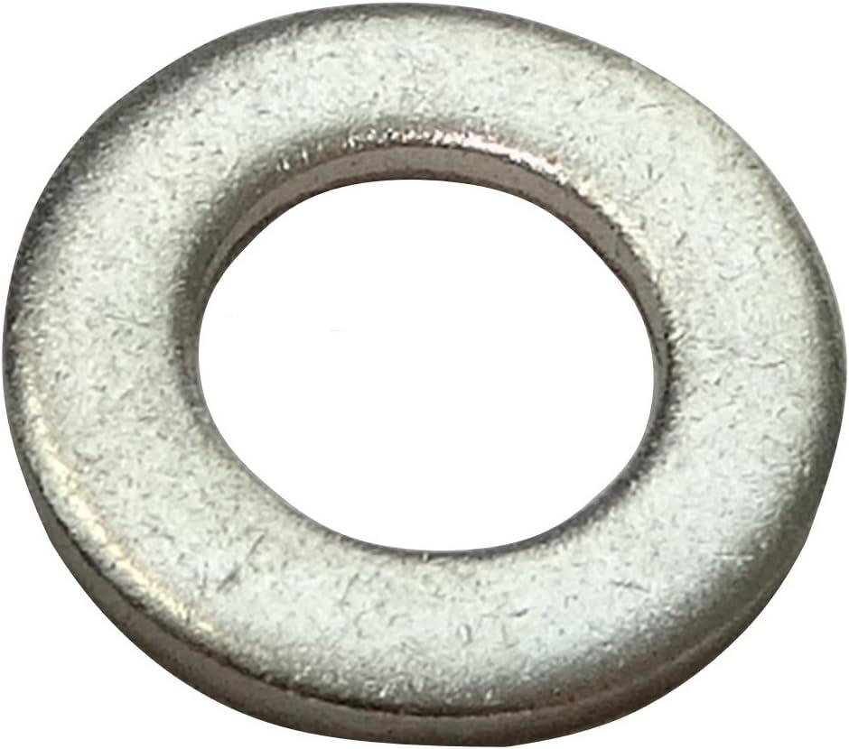 Aerzetix 100x rondelle Plate M5 Ф10mm H1mm DIN125A Acier INOX A2 C17687