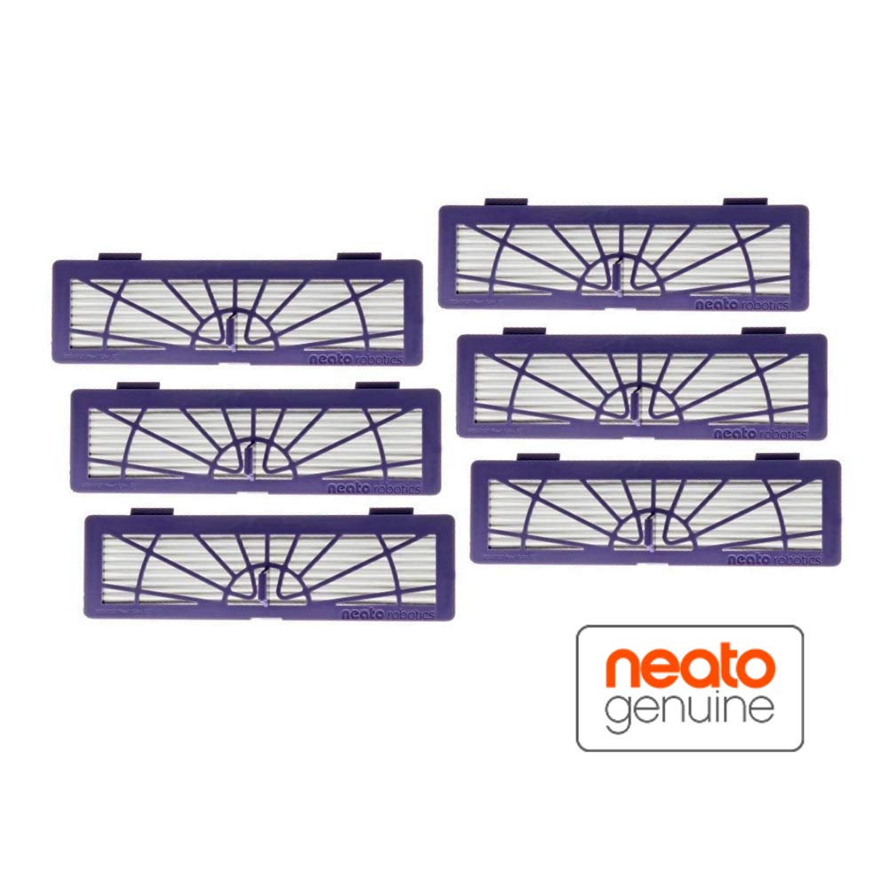 Neato High Performance Filter for Botvac Robot Vacuums, 6-Pack