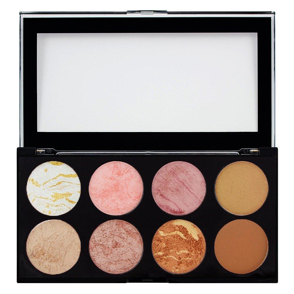 Paleta de maquillaje Ultra Blush Golden Sugar de MAKEUP REVOLUTION, 13 g 17855