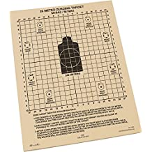 """Rite in the Rain All-Weather 25 Meter Target, 8 1/2"""" x 11"""", Tan, M16A2 / M16A4 Front, M4 CARBINE Back, 100 Sheet Pack (No. 9125)"""