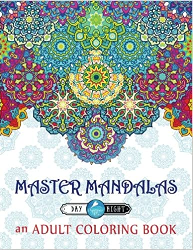 Amazon Master Mandalas Adult Coloring Book Complex Mandala Patterns Designs For Stress Relief Relaxation Meditation Mindful Zen Color Therapy