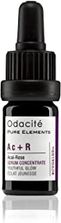 product image for Odacite - Ac+R Serum For Face, Natural, Youthful Glow, Improves Skin Tone, Wrinkles, and Firmness, Age defying, Rose Oil, 0.17 fl. oz.