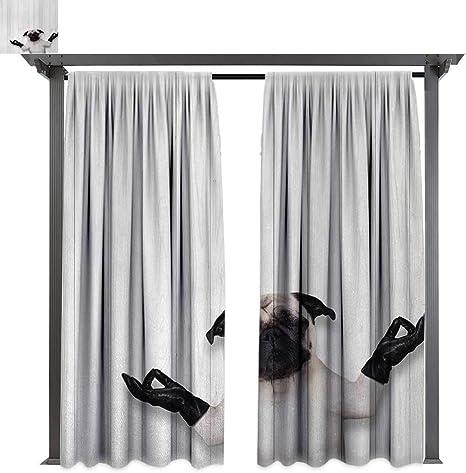 Cortina de privacidad para exteriores con diseño de animales, para ...