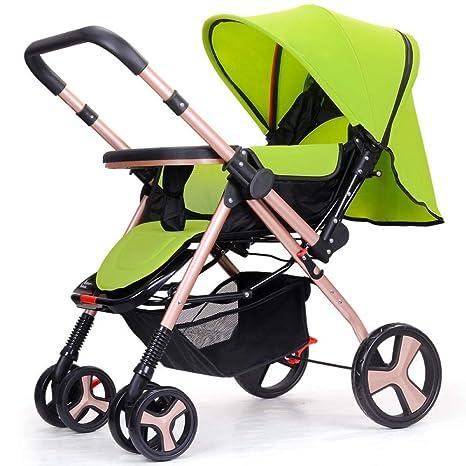 PLDDY cochecito de bebé 3 en 1, ligero, plegable, para bebé, carrito ...