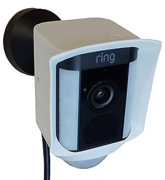 Amazon.com: Carcasa de silicona para anillo Spotlight cámara ...