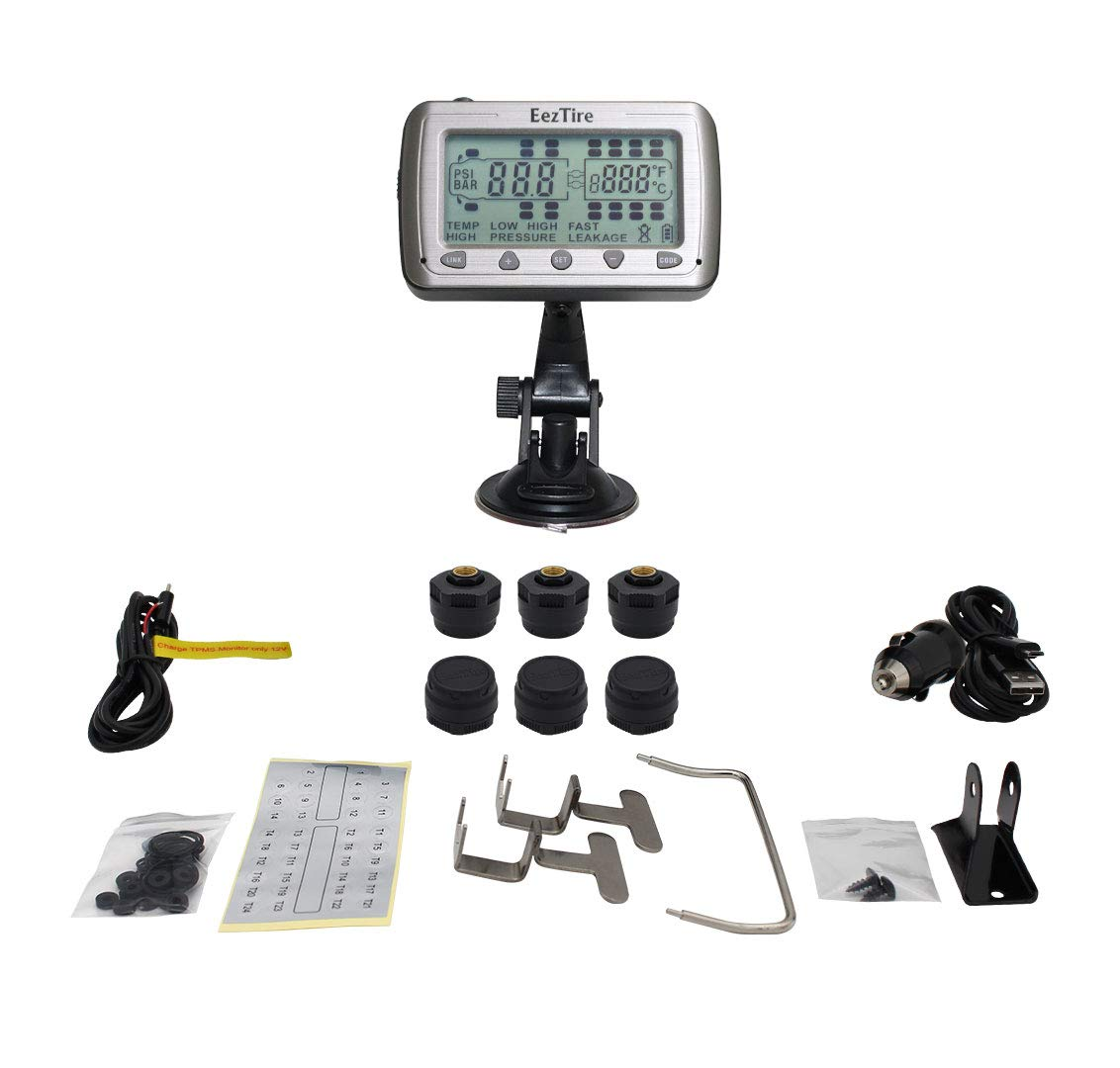 TPMS 10 Sensors EEZTire Tire Pressure Monitoring System