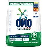 Detergente em Pó OMO Profissional Sanitiza e Higieniza 5,6kg