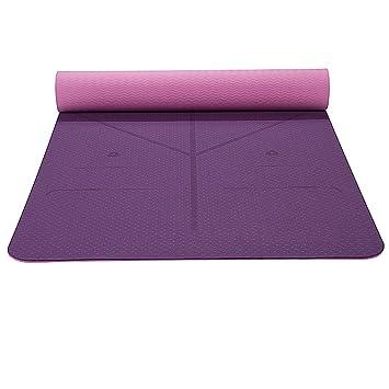 TLTLYJD Colchoneta De Yoga Estera De Yoga para Ejercicios De ...
