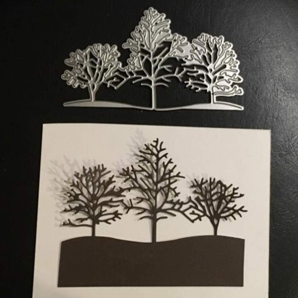 Scrapbook /& Card Making 9 Trees Premade PAPER Die Cuts