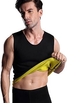 Amazon.com: Valentina para hombre caliente sudor body shaper ...