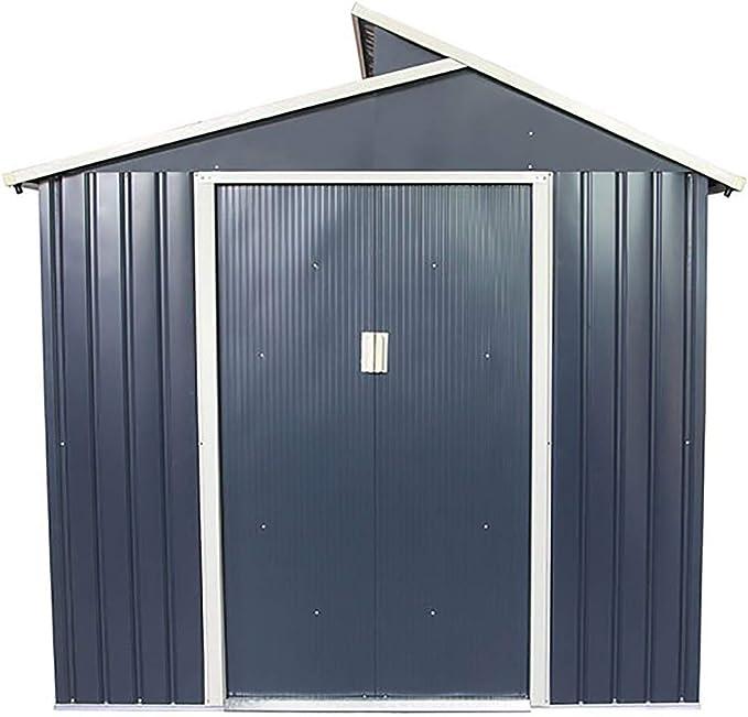 Gardiun KIS12985 - Caseta Metálica Liverpool - 2,84 m² Ext.: Amazon.es: Hogar