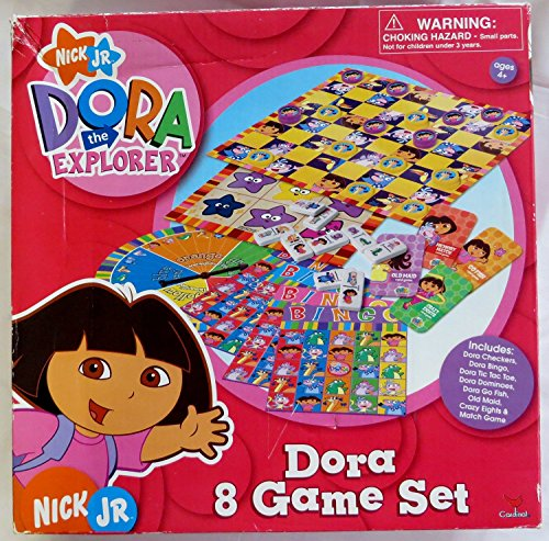 Dora the Explorer 8 Game Set by Cardinal Industries