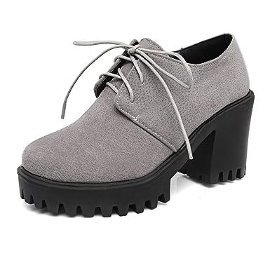 ❤ Botines Mujer Invierno Tacon,Tacones Gruesos Zapatos Altos Mujer Botas de Tacones Tacones Gruesos Plataforma s Botas Absolute: Amazon.es: Ropa y ...