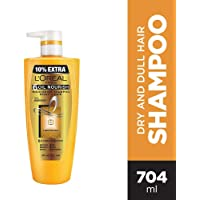 L'Oreal Paris Hex 6 Oil Shampoo, 640ml+64ml Free