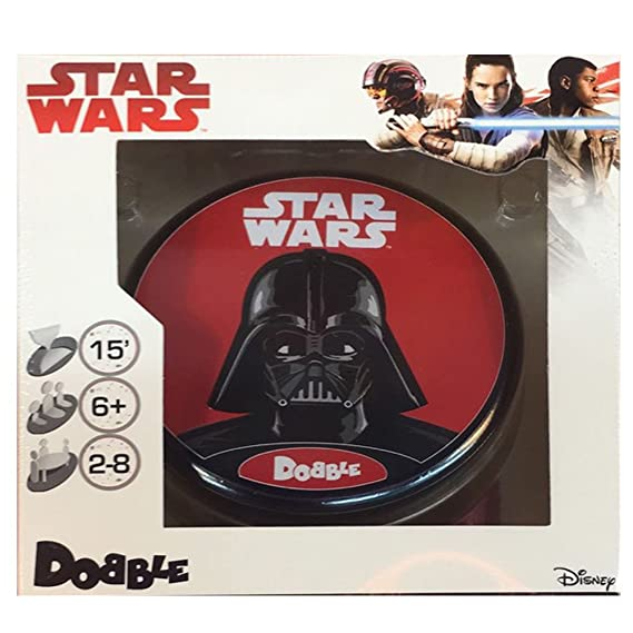 Amazon.com: Asmodee – Dobble Card Game Star Wars (ade0dob05es): Toys & Games
