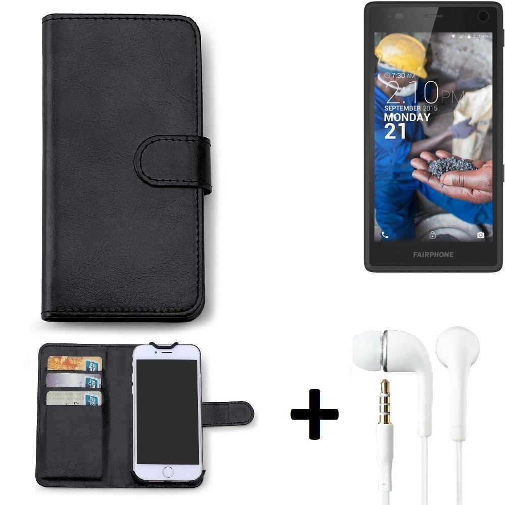 official photos b4842 f8a40 K-S-Trade® TOP SET for Fairphone Fairphone 2 360° Case Flip Cover ...