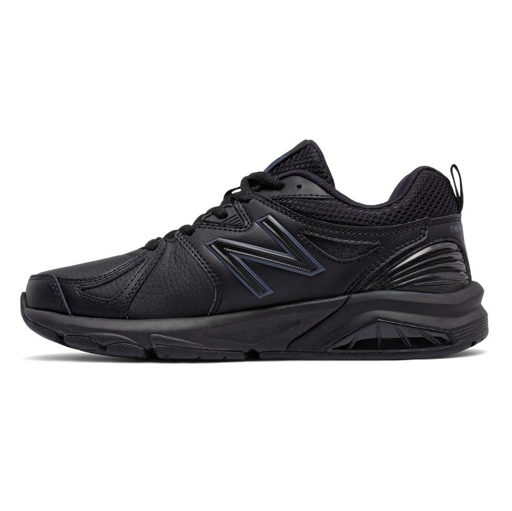 New Balance Women's wx857v2 Casual Comfort Training Shoe, Black, 10.5 2A US