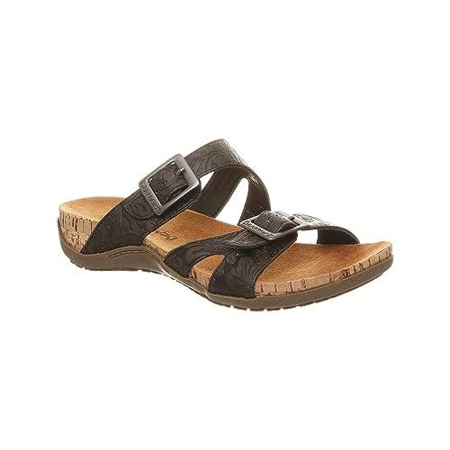 044ed238522 BEARPAW Women's Maddie Heeled Sandal