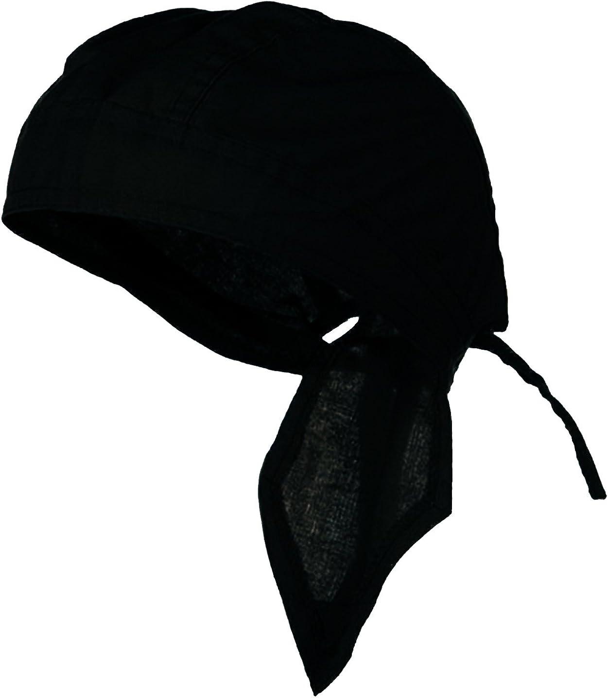 New 6 Skull Caps Set Biker Bandanna Head Wrap All Cotton
