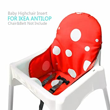 Ikea Antilop Highchair Seat Covers u0026 Cushion by AT Washable Foldable Baby Highchair Cover Ikea  sc 1 st  Amazon.com & Amazon.com : Ikea Antilop Highchair Seat Covers u0026 Cushion by AT ...