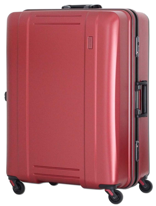 [シフレ] 軽量スーツケース ゼログラ 61cm 80L 4.2kg 中型サイズ ヒノモトキャスター 保証付 80L 68cm 4.2kg ZER1031-61 B01N5EHFPYマットワイン