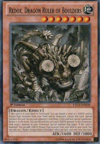 Yu-Gi-Oh! - Redox, Dragon Ruler of Boulders (LTGY-EN038) - Lord of the Tachyon Galaxy - 1st Edition - Rare