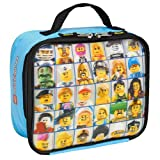 "LEGO ""Mini Figure"" Lenticular Rectangular Soft Lunch Box"