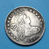KaiKBax Best Morgan US Dollars-Old Coin Collecting-USA Old Pre Morgan Dollar-Handmade Coin- 1795