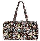 Vera Bradley Luggage Women's Large Duffel Sierra Duffel Bag