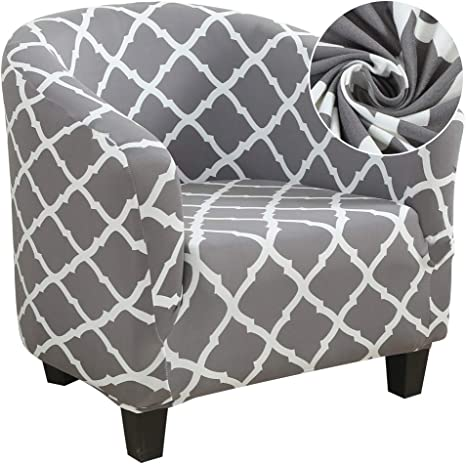 Color : Beige, Specification : Univesal Club Chair Slipcover Sedia Stretch Poltrona Poltrona Cover Furniture Protector Soft Cover Cover con Fondo Elastico per Bambini 1pc