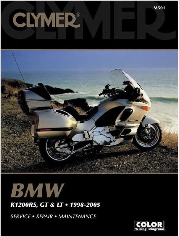 Amazon.com: Clymer MANUAL BMW K1200RS/GT/LT 98-05 K1200RS/GT/LT 98-05 M501:  Automotive Amazon.com