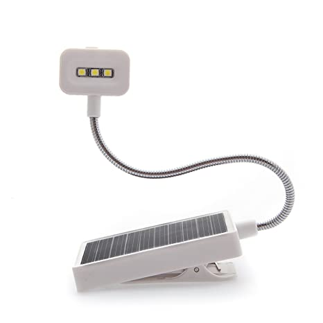 Amazon Book Light Awesome LED Solar Book Light Soft Clip For Reading Crochet Handicrafts