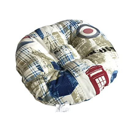 Amazon Com Loveer Big Hippo Chair Pad Quilted Soft Chair Cushion